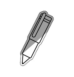Pen ink isolated vector