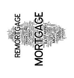 Five reasons to consider a remortgage text vector
