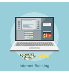 Internet banking 2 vector