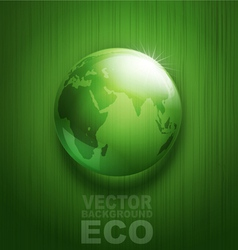 environmental background with transparent green ba vector image vector image