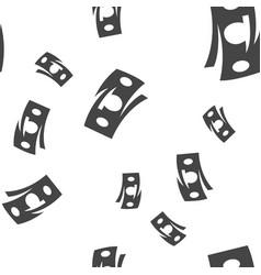 Money seamless pattern vector