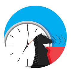 Time business strategy vector