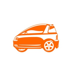 Ultra light vehicle vector image