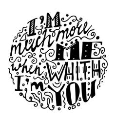 Vintage font white background vector image vector image