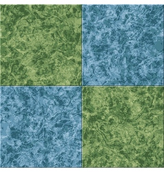 Abstract blue green marble seamless texture tiled vector