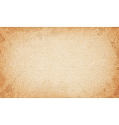 Realistic dirty brown cardboard stained texture vector
