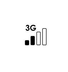 3 generation low network icon vector