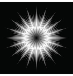 An abstract lens flare vector