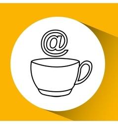 Coffee drink vector