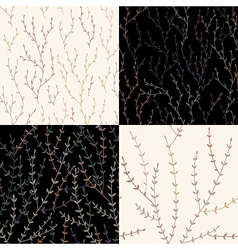 Brunch pattern vector