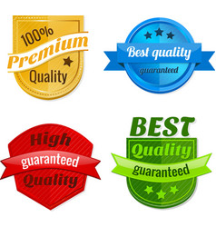 Collection of product offer badges vector image