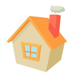 House icon cartoon style vector
