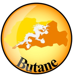 Button butane vector