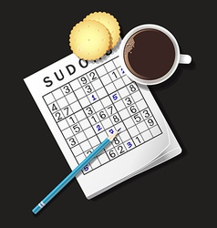 Sudoku coffee2 vector