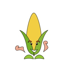 Corn-caricature-380x400 vector
