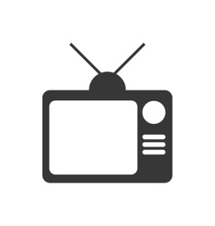 Tv icon retro design graphic vector