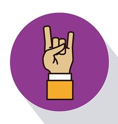 Hands signals vector