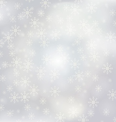 luxury christmas background with snowflakes 1 vector image