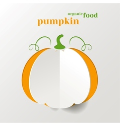 Creative Pumpkin vector image