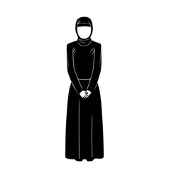 Islamic woman vector
