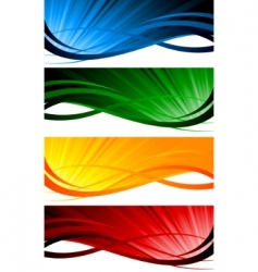 Vector colorful banners vector