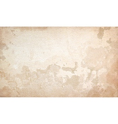 Grunge beige background wall with texture vector image vector image