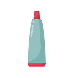 toothpaste tube flat icon vector image