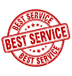 Best service stamp vector