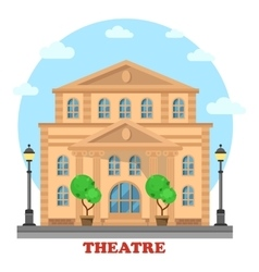 Grand theatre or buildingfor entertainment vector