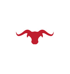 Taurus logo template icon vector