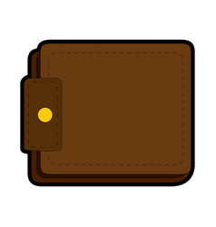 Wallet icon image vector