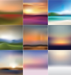 Premium collection of soft abstract background vector