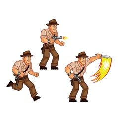 Treasure hunter vector