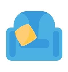 Armchair icon vector image vector image