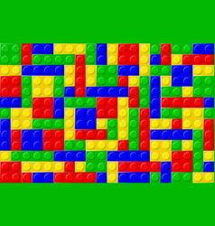 blocks vector image vector image