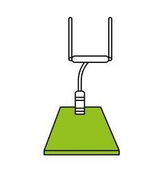 football arch design vector image