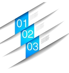 Abstract number line vector