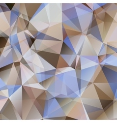 Brown Triangle Abstract Background vector image
