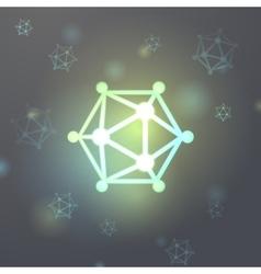 Nanoparticle icosahedron virus microcosm a vector