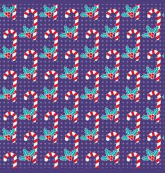 Romantic christmas pattern vector