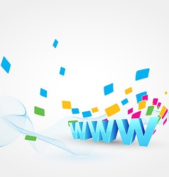 www network vector image