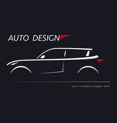 Design car concept automotive topics vector