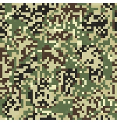 Digit camouflage seamless pattern vector