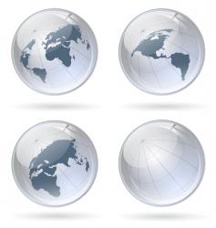 globe vector image vector image