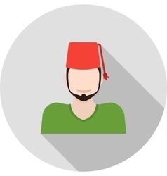 Turkish man vector
