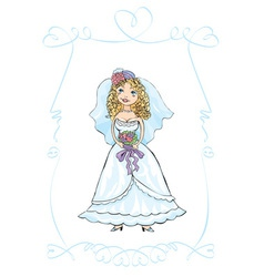 Wedding picture vector