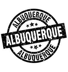 Albuquerque black round grunge stamp vector