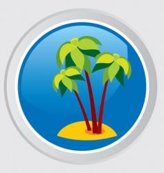 island vector image vector image