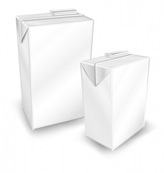 two package vector image