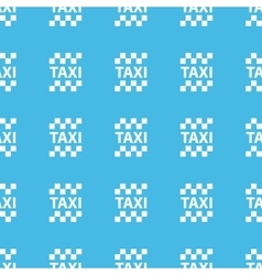 Taxi straight pattern vector